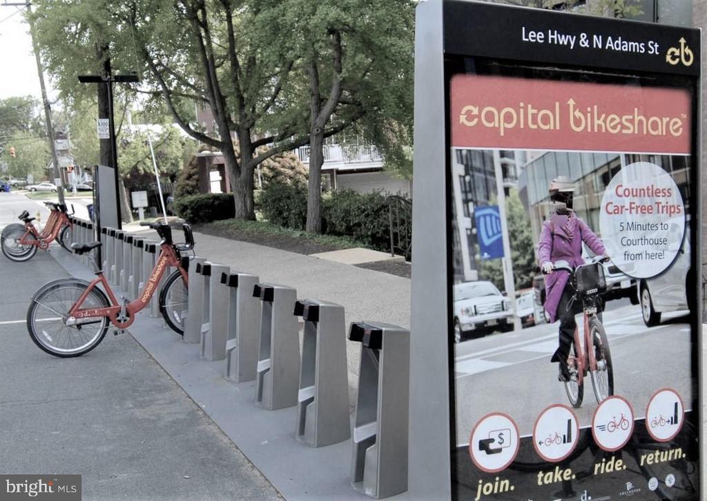 Bike Rentals  close to Condominium - 2030 N ADAMS ST #404, ARLINGTON
