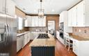 Imagine Cooking Holiday Meals in this kitchen - 8910 DANVILLE TER, FREDERICK