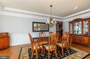Dining Room - 42962 APPALOOSA TRAIL CT, CHANTILLY