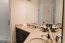 Primary Bath - 9450 SILVER KING CT #203, FAIRFAX