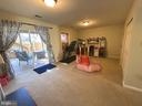 Sliding Glass Doors to lower level Deck - 14103 RED ROCK CT, GAINESVILLE