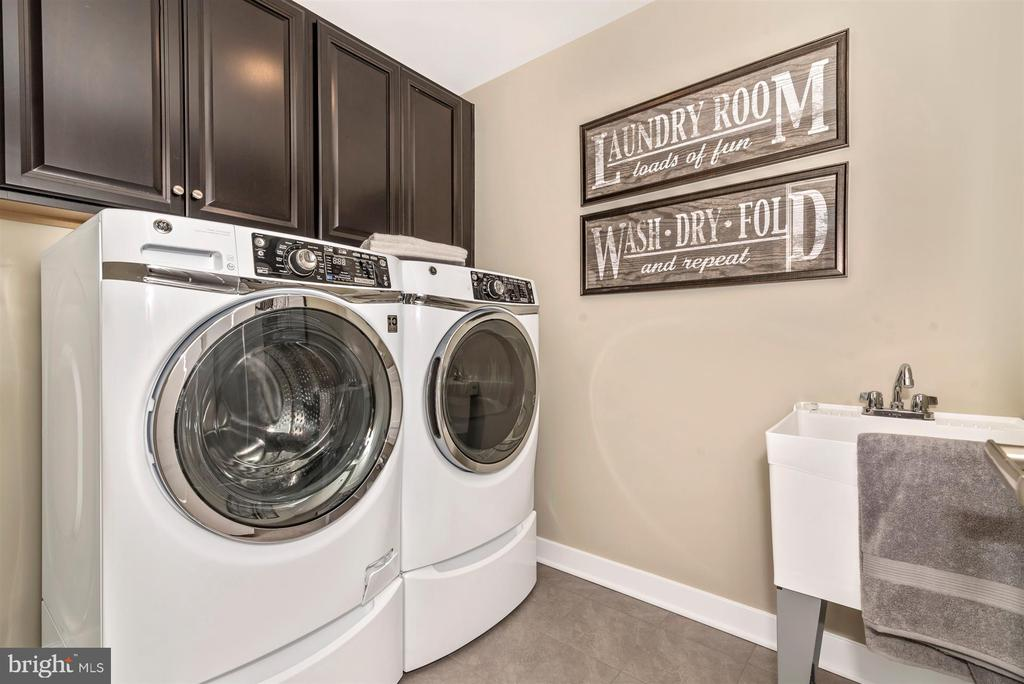 Upstrairs Laundry Room - 13507 PRIMAVERA DR, MOUNT AIRY