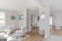 Open floorplan - 250 LOUDOUN ST SW, LEESBURG