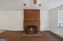 Fire Place - 1911 9 1/2 ST NW, WASHINGTON