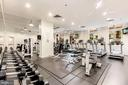 Fully equipped fitness center - 1000 NEW JERSEY AVE SE #PH-19, WASHINGTON