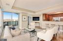 Living Room Great for Entertaining - 1881 N NASH ST #810, ARLINGTON