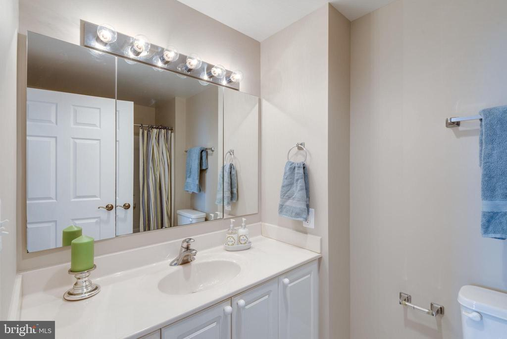2nd full bathroom with shower/tub - 19365 CYPRESS RIDGE TER #1007, LEESBURG