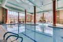 Indoor pool and spa - 19365 CYPRESS RIDGE TER #1007, LEESBURG