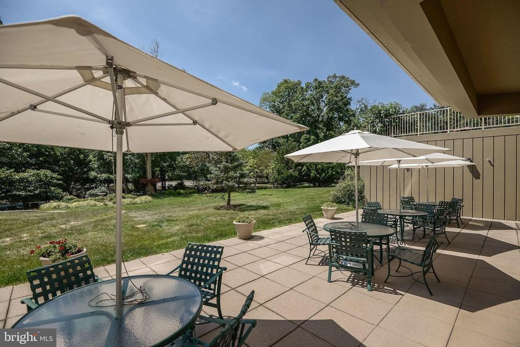 Enjoy lunch out on the clubhouse patio - 19365 CYPRESS RIDGE TER #1007, LEESBURG