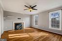 Main level family room - 6703 WASHINGTON BLVD #F, ARLINGTON