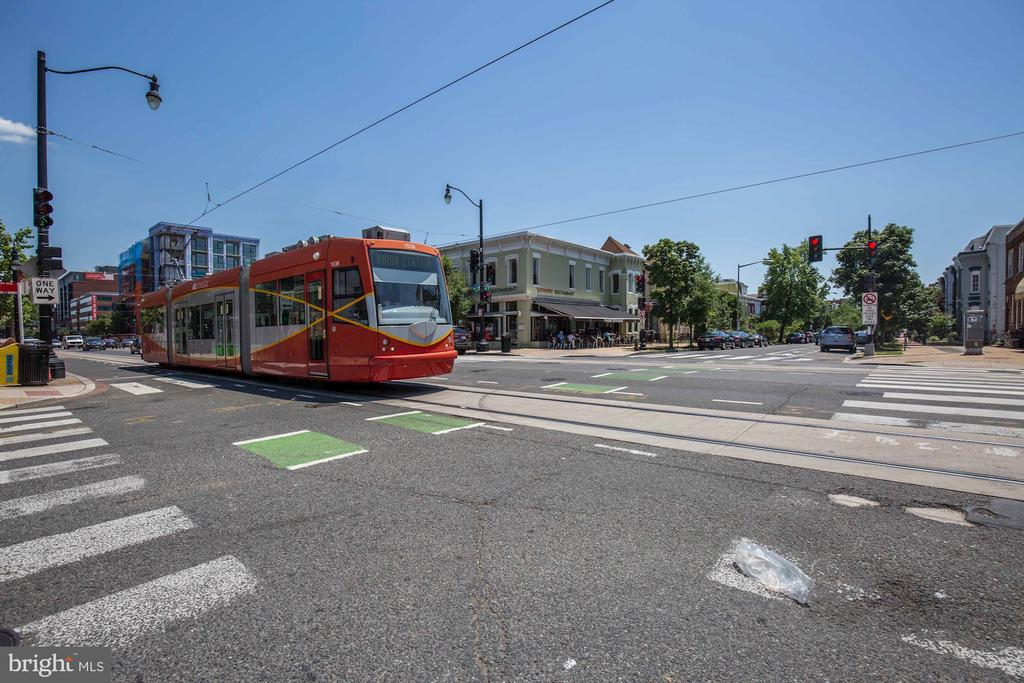 Street Car Passing By Your Commercial Space - 335 H ST NE, WASHINGTON