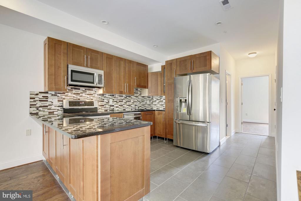 Nicely Finished Kitchens in Both Residentila Units - 335 H ST NE, WASHINGTON