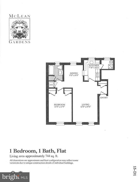 Floorplan - 3640 39TH ST NW #D526, WASHINGTON