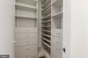 Primary closet - 2127 N ST NW, WASHINGTON