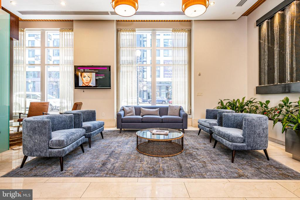 Lobby of the Vellcity - 1025 1ST ST SE #801, WASHINGTON