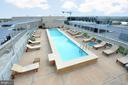 Roof top Pool and Deck.  Views for days!! - 1025 1ST ST SE #801, WASHINGTON