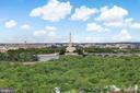 View from Balcony - 1200 N NASH #544, ARLINGTON