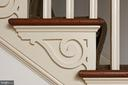 Classic details throughout the house - 21943 ST LOUIS RD, MIDDLEBURG