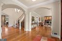 Arched Doorways - 825 CLINTON PL, MCLEAN