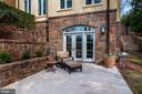 Patio off Recreation Room - 825 CLINTON PL, MCLEAN