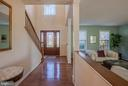 Foyer Pic 1 - 4712 BRIGGSWOOD CT, FREDERICK