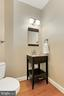 Main Level Half Bath - 6302 KNOLLS POND LN, FAIRFAX STATION