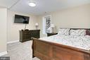 Spacious Lower Level 5h Bedroom with a closet! - 6302 KNOLLS POND LN, FAIRFAX STATION