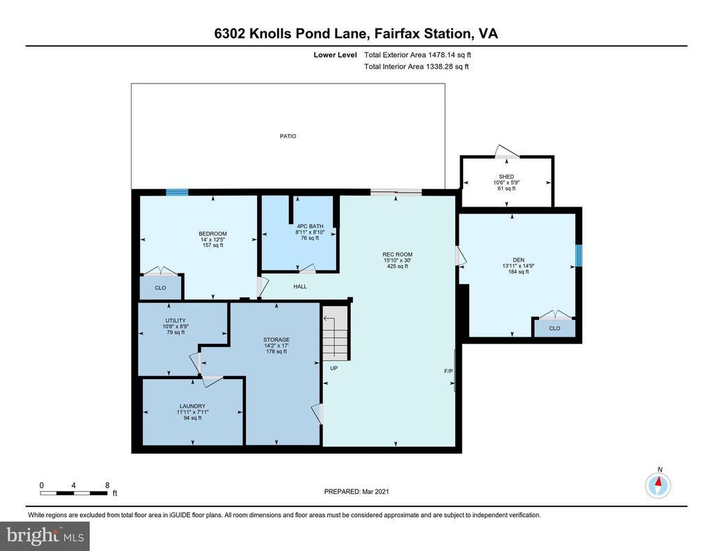 Lower Level - 6302 KNOLLS POND LN, FAIRFAX STATION