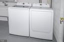lower laundry and storage - 7419 JERVIS ST, SPRINGFIELD