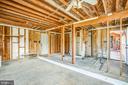 Inside Attached Garage - 6407 PLANK RD, FREDERICKSBURG