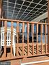 12 X 20 FRONT PORCH DECK - 1700 KIMBLE RD, BERRYVILLE