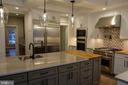 Kitchen appliances to Butler's Pantry - 6723 VALLEY BROOK DR, FALLS CHURCH