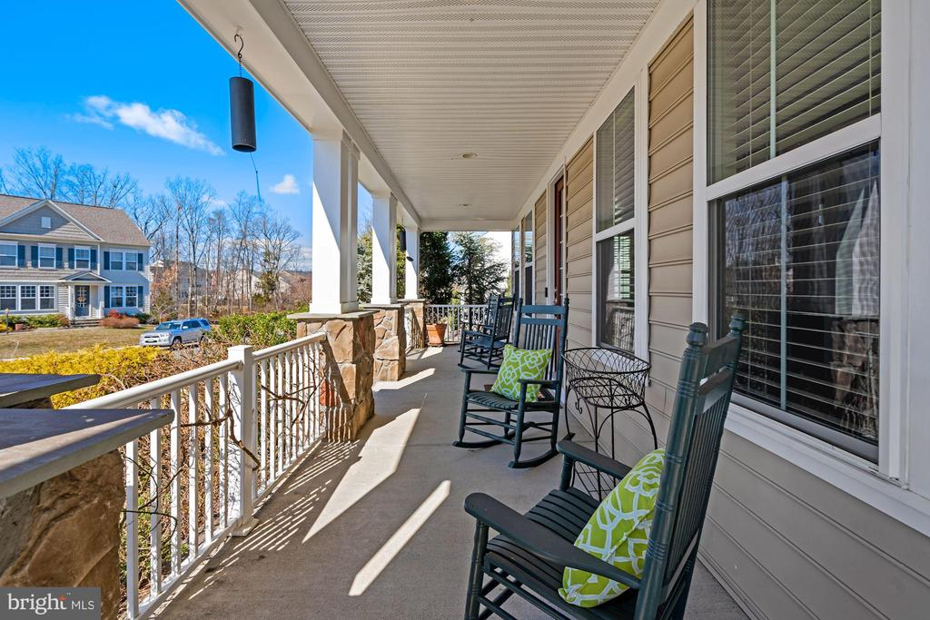 Beautiful Wrap Around Front Porch - 22522 WILDERNESS ACRES CIR, LEESBURG