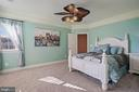 Ensuite Bedroom Upper Level (Side of the Home) - 22522 WILDERNESS ACRES CIR, LEESBURG