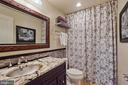 Lower Level Bathroom - 22522 WILDERNESS ACRES CIR, LEESBURG