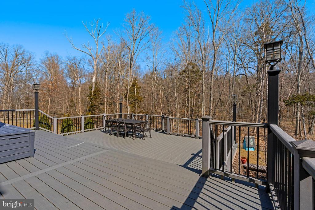 Multi Level Trex Deck - 22522 WILDERNESS ACRES CIR, LEESBURG