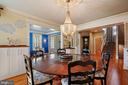 Dining Room - 22522 WILDERNESS ACRES CIR, LEESBURG
