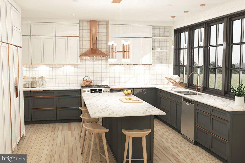 Artist's rendering shows Dreamium Gourmet Kitchen - 18080 CANBY RD, LEESBURG