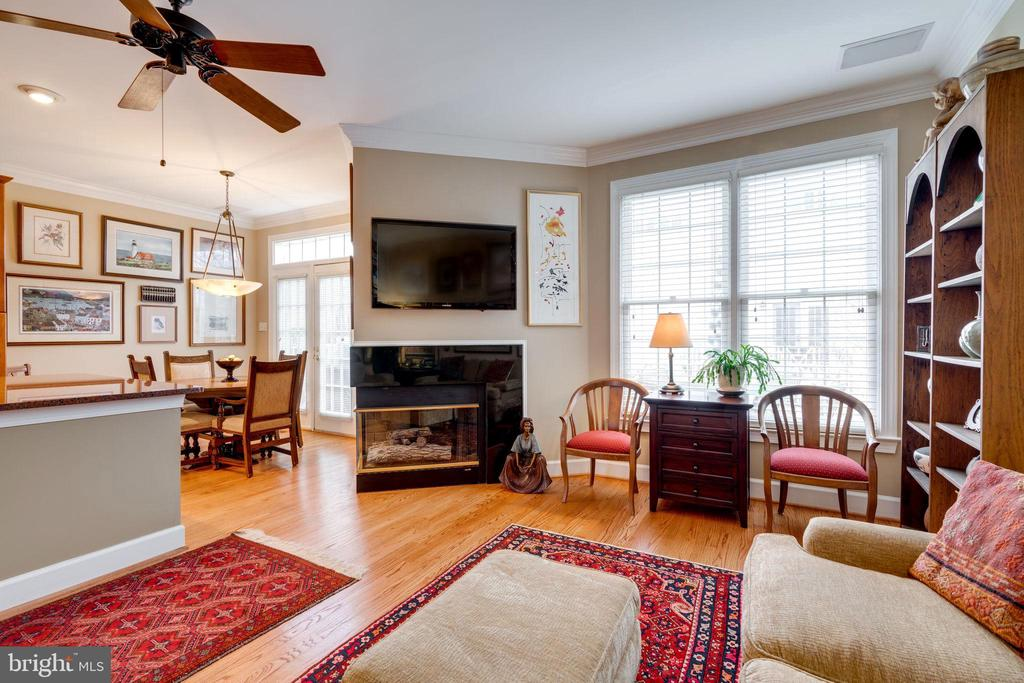 Family Room - 10502 CATESBY ROW, FAIRFAX