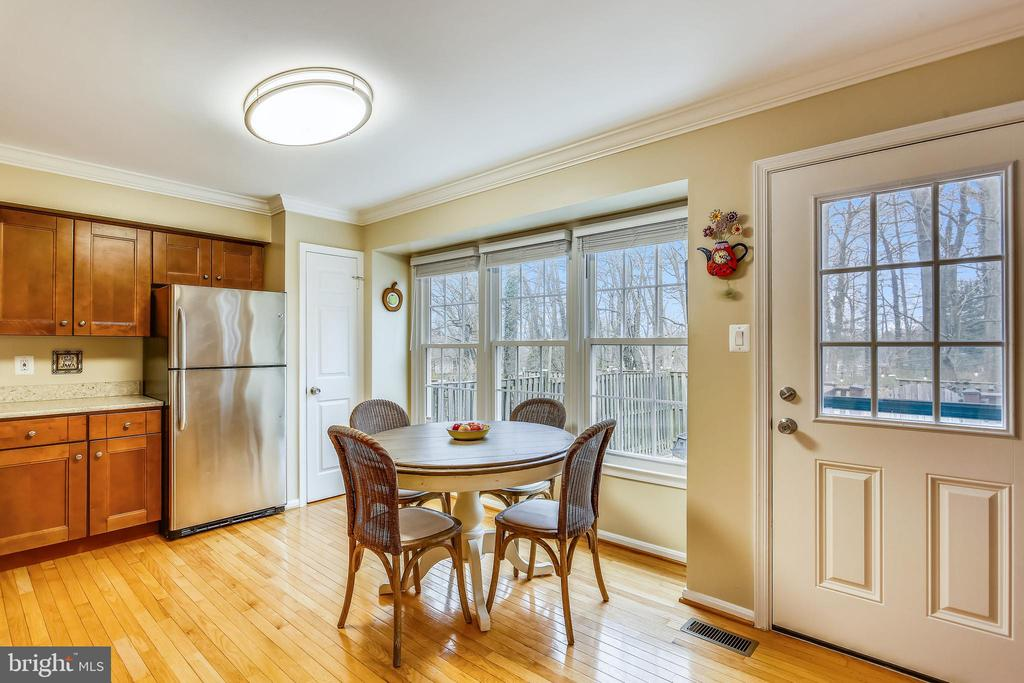 Eat-in kitchen w/ access to patio - 10828 DOUGLAS AVE, SILVER SPRING