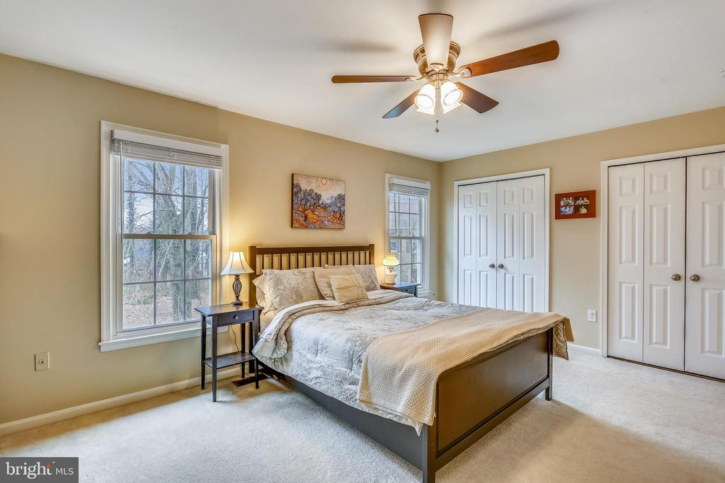 Primary master bedroom suite with dual closets - 10828 DOUGLAS AVE, SILVER SPRING