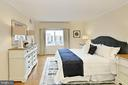 Spacious Primary Bedroom is 16' X 12'.  WOW!! - 8380 GREENSBORO DR #1017, MCLEAN