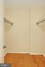 One walk-in closet, PLUS a reach-in closet. - 8380 GREENSBORO DR #1017, MCLEAN