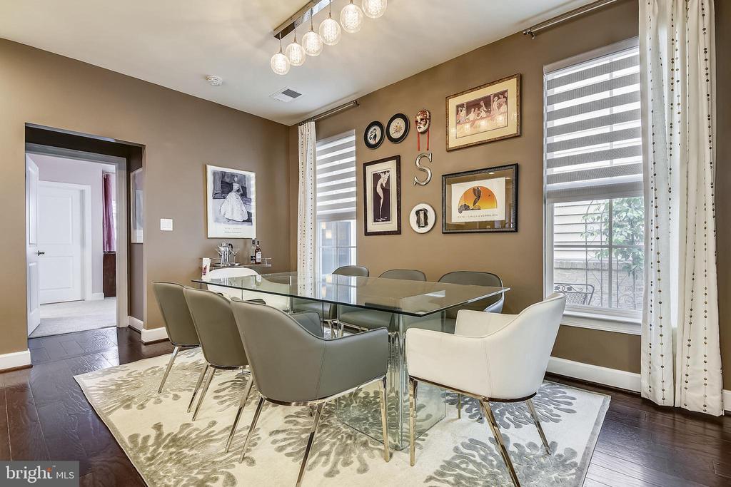 Kitchen dining area - 42897 BEAVER CROSSING SQ, ASHBURN