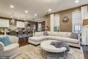 Open concept Kitchen-Great Room - 42897 BEAVER CROSSING SQ, ASHBURN