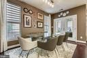 Kitchen dining  & french doors to Screened Porch - 42897 BEAVER CROSSING SQ, ASHBURN