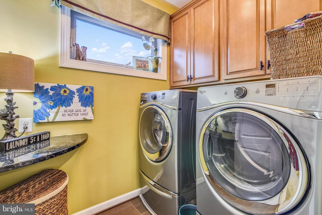 LAUNDRY RM ON UL. FRONT LOAD W&D TO CONVEY - 20800 EXCHANGE ST, ASHBURN