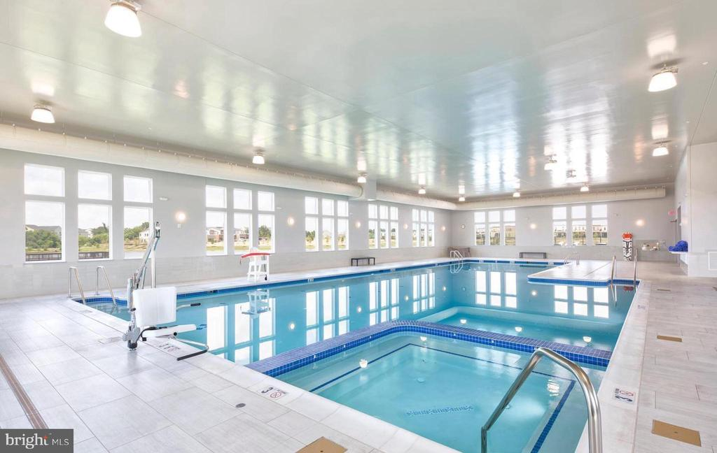 Clubhouse indoor pool - 42897 BEAVER CROSSING SQ, ASHBURN