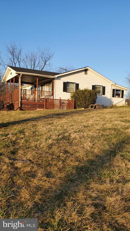 SIDE FRONT VIEW - 1700 KIMBLE RD, BERRYVILLE