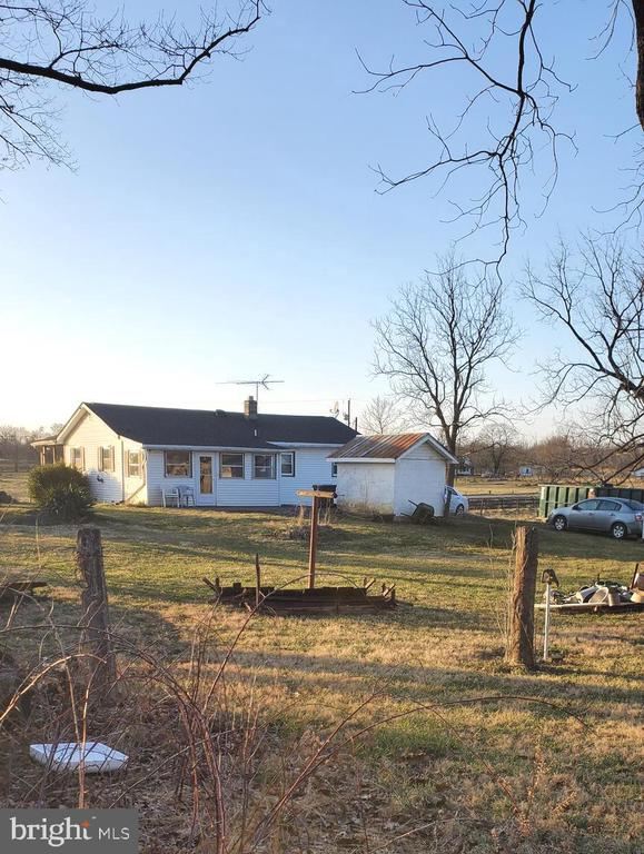 BACK OF HOUSE - 1700 KIMBLE RD, BERRYVILLE